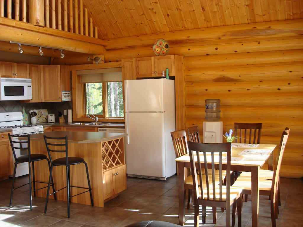 Purcell Mountain Lodge Interior