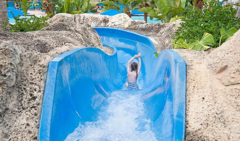 Water Slide Hotel