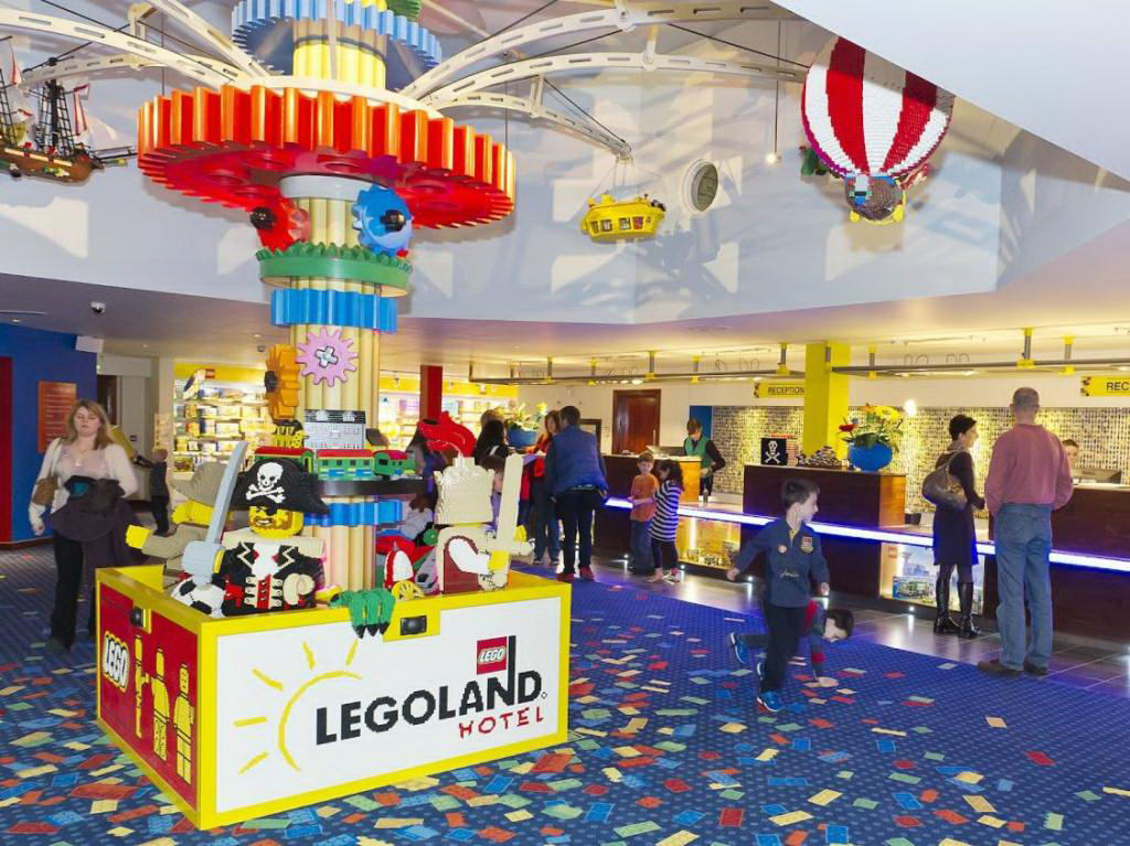 Resort Hotel - LEGOLAND-Reception