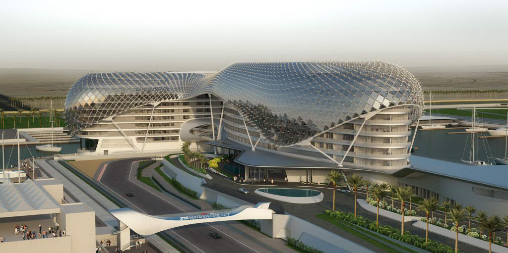 The Yas Hotel-Exterior
