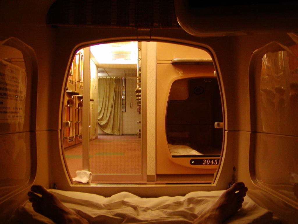 7 cool capsule hotels eccentric hotels for Hotels japon