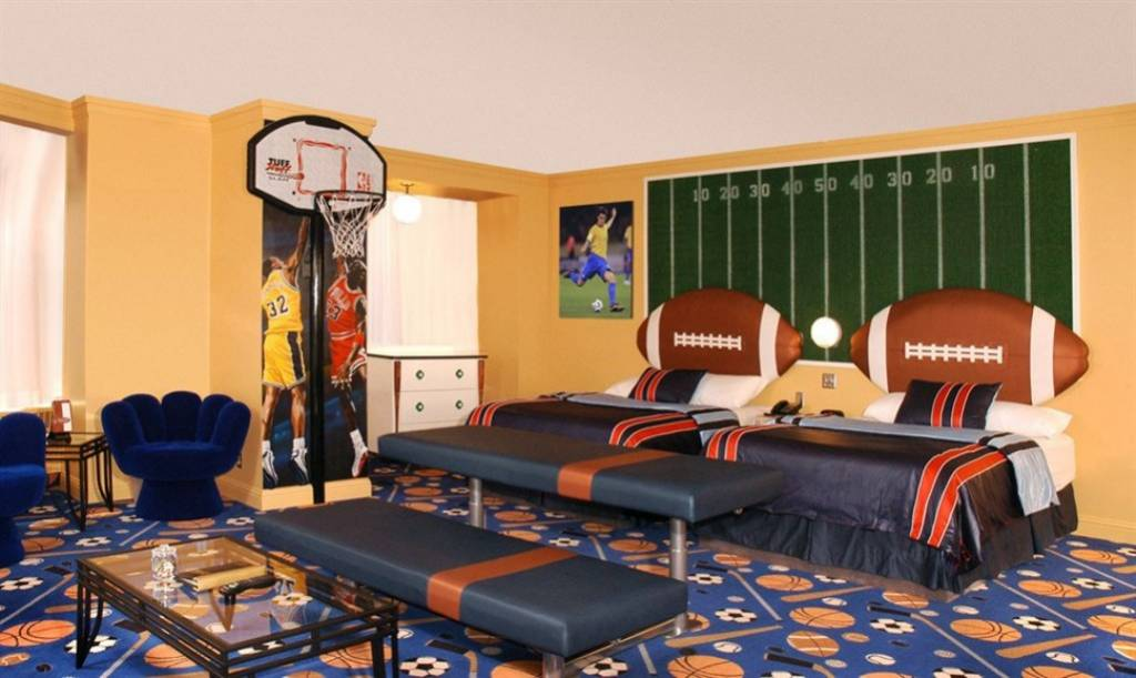 Sports Luxury Theme Fantasyland Hotel