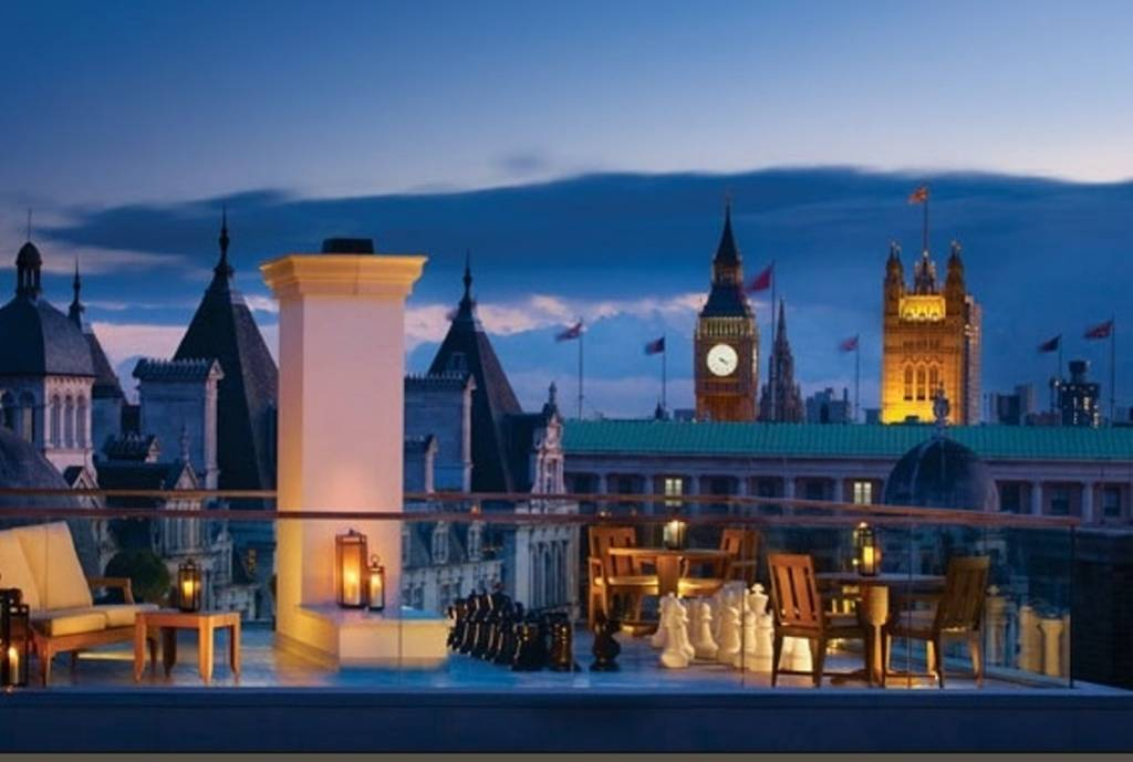 Hotels with most beautiful private terraces eccentric hotels for Terrace hotel london