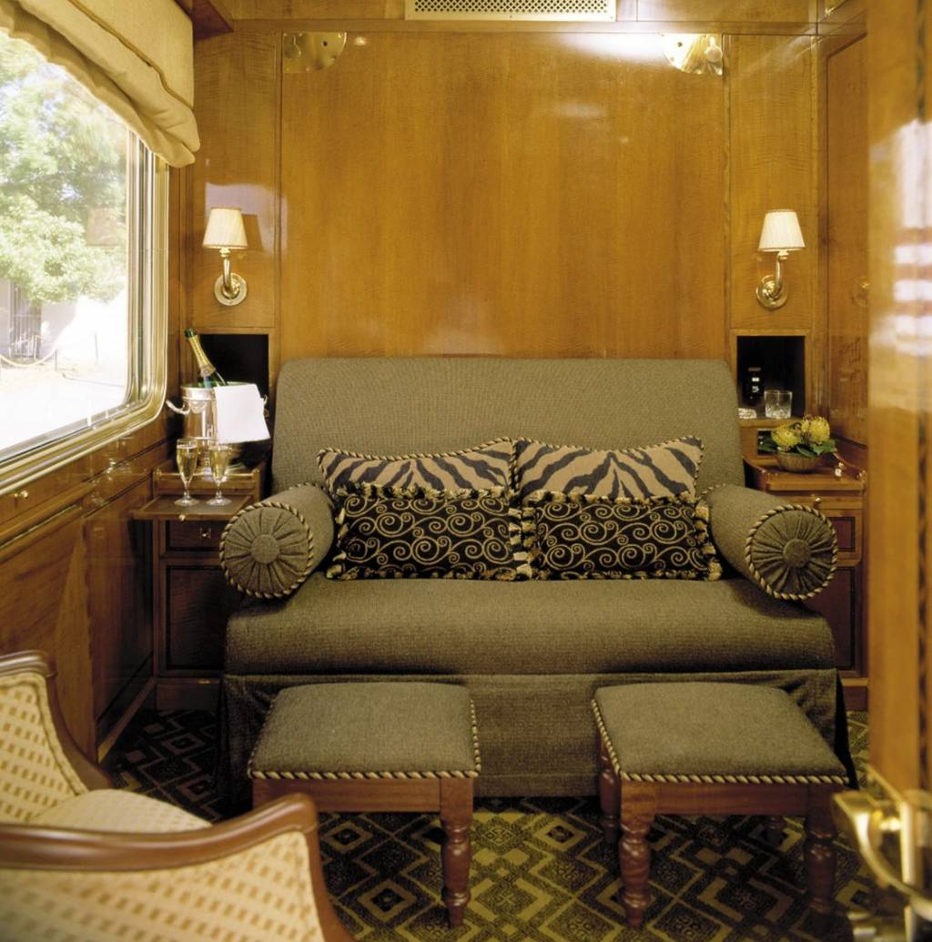 The Blue Train-Luxury Double Bed-Day View